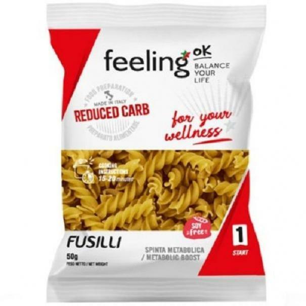 feeling ok feeling ok - start 1 - fusilli in confezione monodose - 50 g