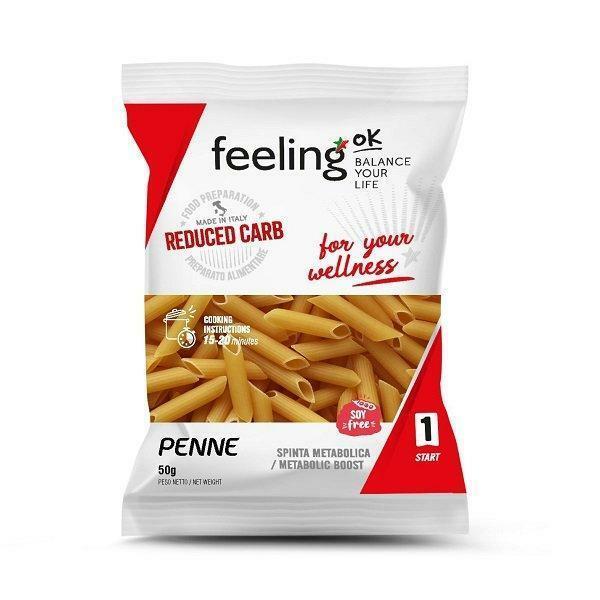 feeling ok feeling ok - start 1 - penne in confezione monodose - 50 g