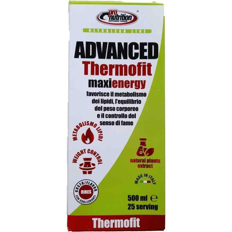 pro nutrition pro nutrition - advanced thermofit maxienergy - 500 ml