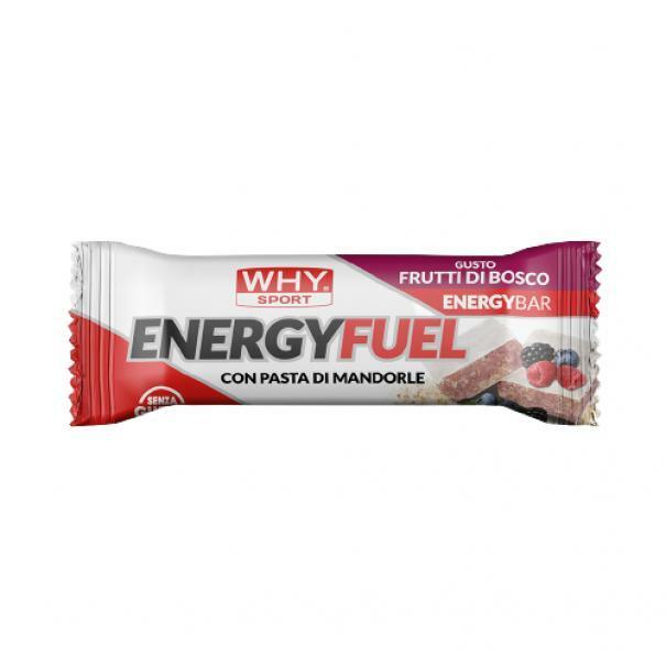 biovita group why sport -energy fuel - barretta energetica gusto frutti di bosco - 35g