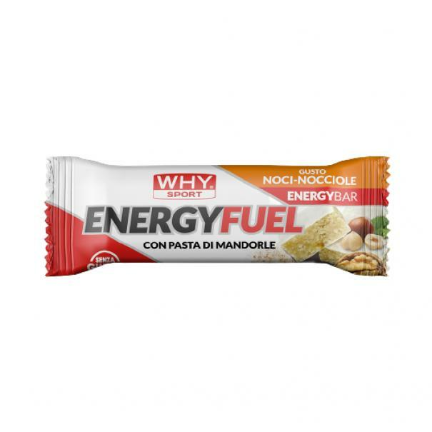 biovita group why sport -energy fuel - barretta energetica gusto noci-nocciola - 35g