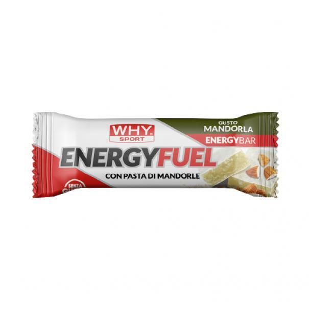 biovita group why sport -energy fuel - barretta energetica gusto mandorla - 35g