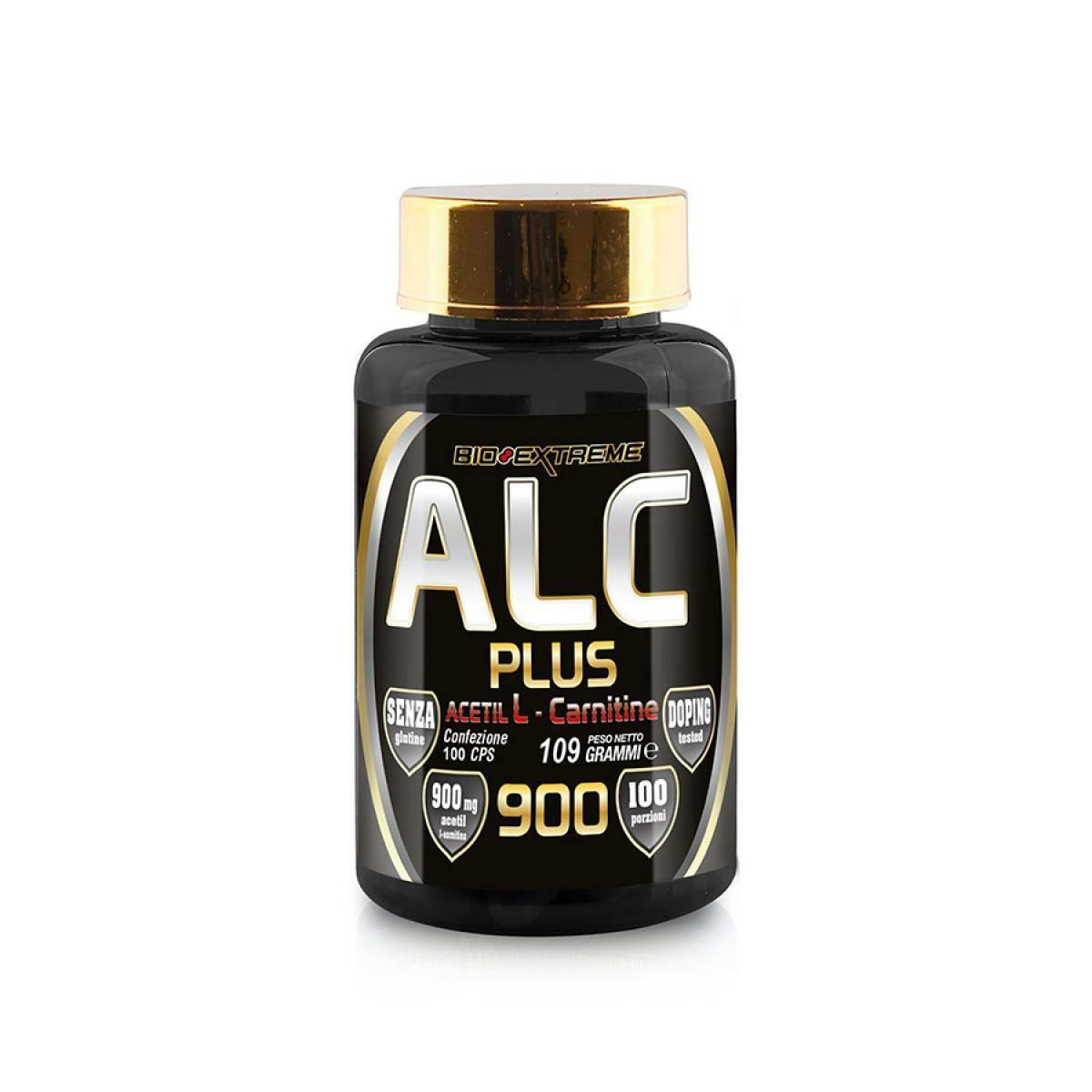 bio extreme bio extreme - alc plus - acetil l - carnitine 900 - 100 cps