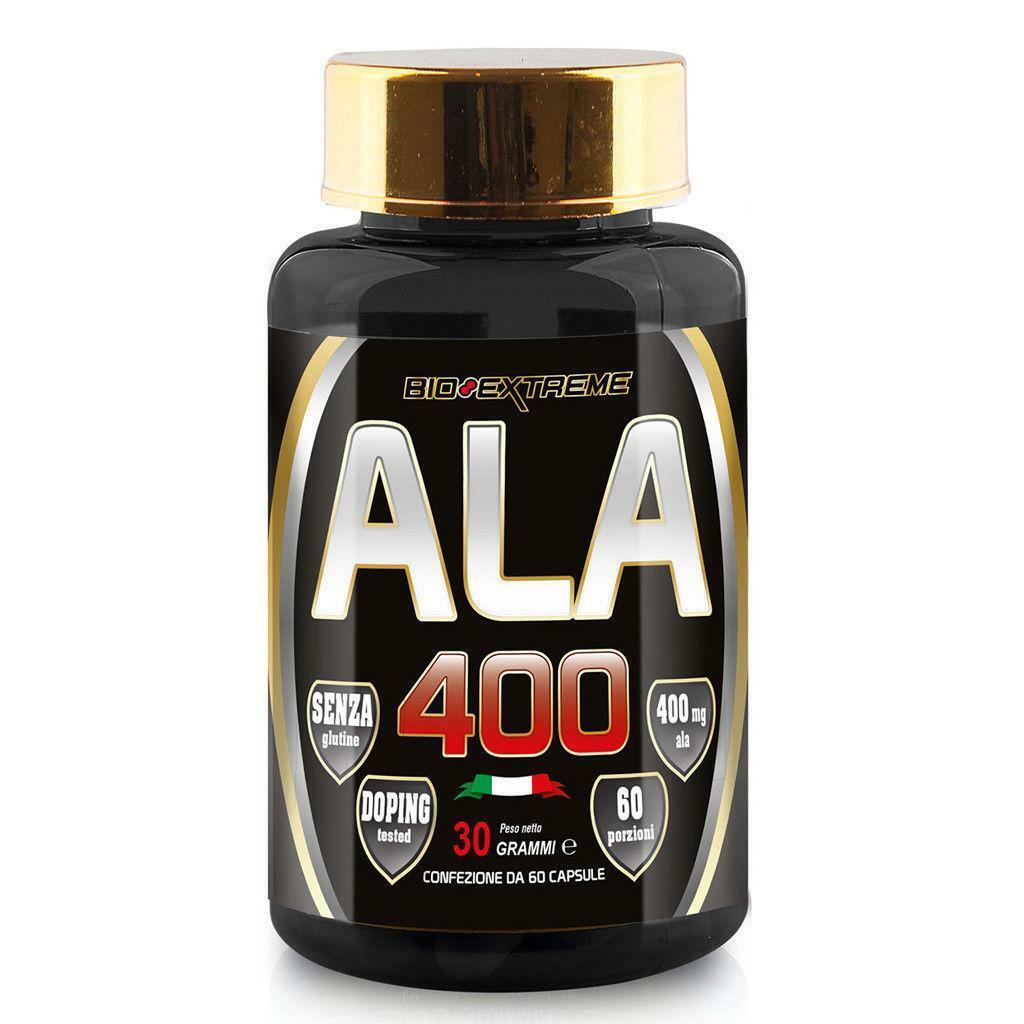 bio extreme ala 400 - acido alfa lipoico senza glutine - 60 cpr