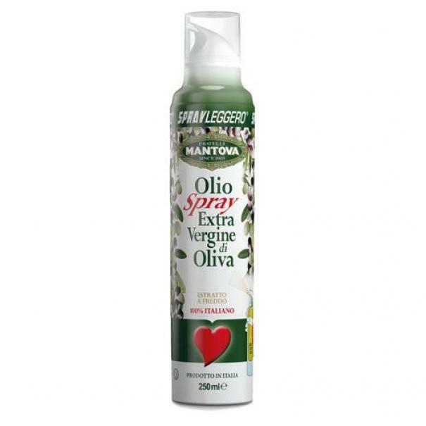 spray leggero olio extravergine di oliva 100% italiano (6 x 250 ml)
