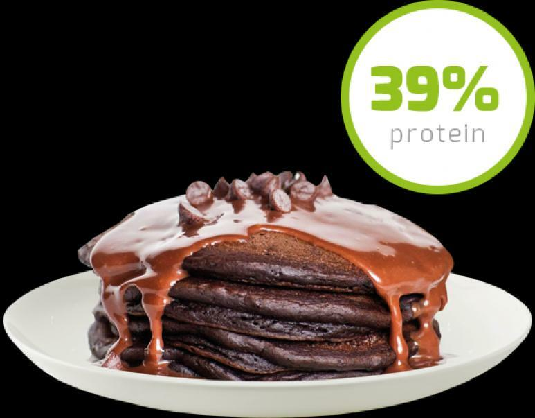 daily life daily life - protein pancake - preparato per pancake a base di avena e 39% proteine gusto cioccolato - 500g