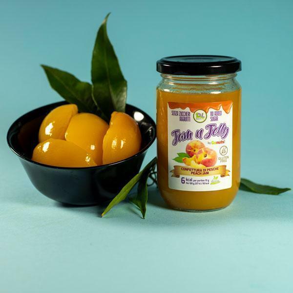 daily life daily life - jam n jelly by gonuts! - marmellata senza zuccheri aggiunti e gluten free gusto albicocca - 280g