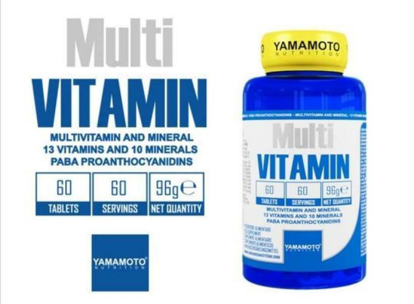 yamamoto nutrition multi vitamin - 60 cpr