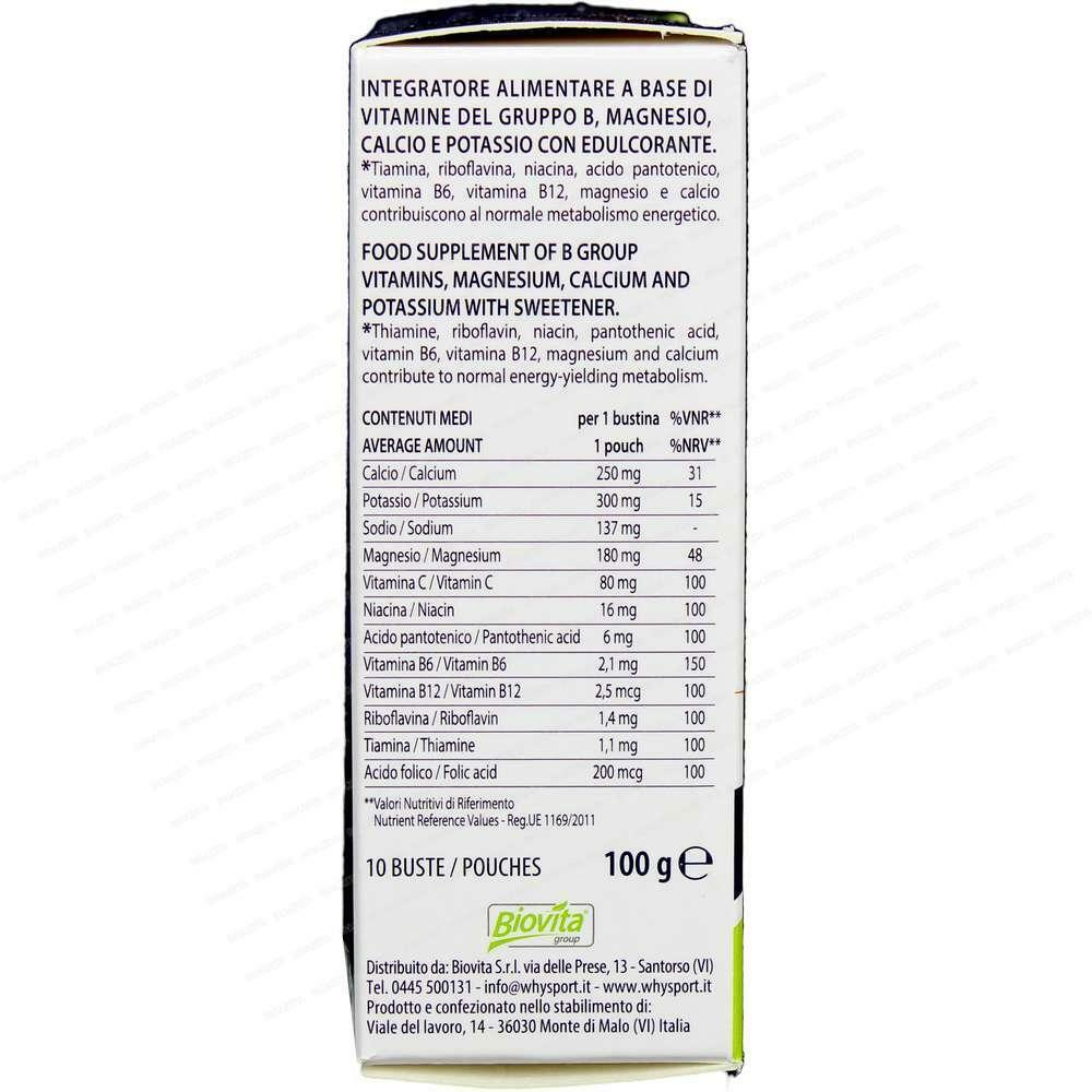 biovita group why nature - vitamine minerali - 10  bustine da 10 g