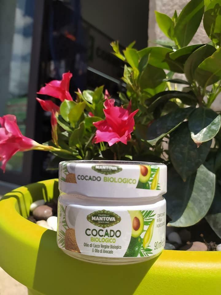 fratelli mantova cocado  biologico - olio di cocco vergine biologico & olio di avocado - (90 ml x 6)