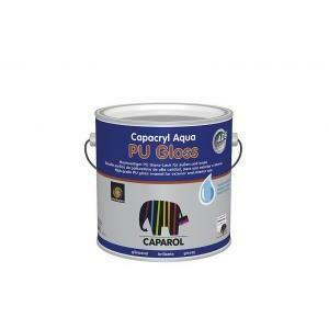 caparol capacryl aqua pu gloss bianco 0,750 litri smalto lucido a base acqua