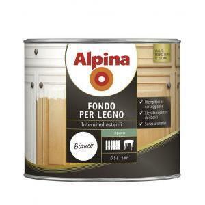 alpina fondo per legno 0,5 litri al solvente