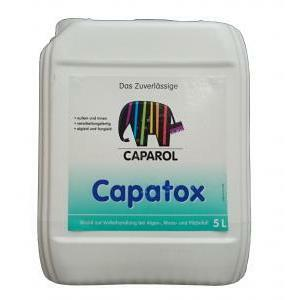 caparol caparol capatox  5 litri disinfettante e antimuffa per pareti interne ed esterne