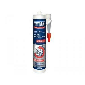 tytan professional silicone alte temperature +315° nero 300 ml