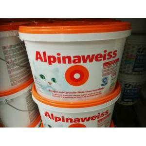 alpina pittura lavabile traspirante alpinaweiss 10 litri
