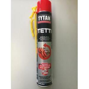 tytan professional schiuma poliuretanica per tetti manuale 750 ml