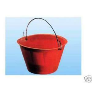 mac vrx cardarella in pvc rossa diam. 36 cm cod.