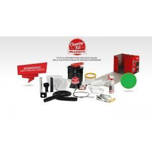 palazzetti palazzetti cleaning kit bidone aspiracenere + accessoriaspiracenere