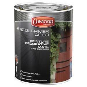 owatrol ap 60 nero 1 litro primer anti-corrosivo penetrante