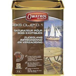 owatrol owatrol deks olje d.1 1 litro olio protettivo per legno