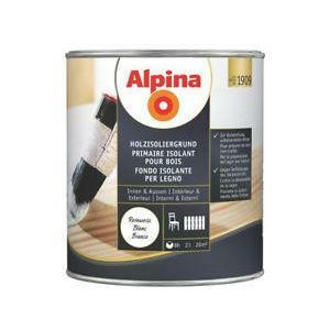 alpina alpina fondo isolante per legno 750 ml