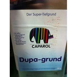 caparol caparol dupa grund fissativo consolidante a solvente per esterni 10 lt cod.1908