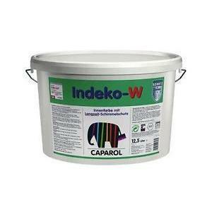 caparol indeko w bianco 12.5 lt pittura opaca speciale con elevata azione preservante del film da muffe e parassiti dei muri
