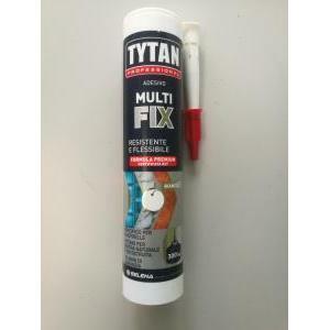 tytan professional adesivo multi fix bianco 300 ml specifico per piastrelle