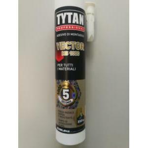 tytan professional tytan professional adesivo vector ms 1000 bianco 290 ml presa immediata