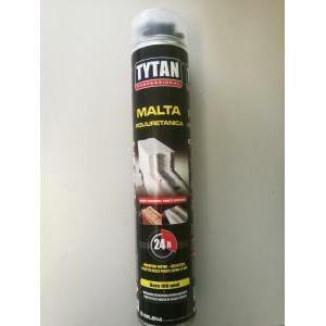 tytan professional tytan professional malta poliuretanica per pistola 880 ml per la costruzione di muratura