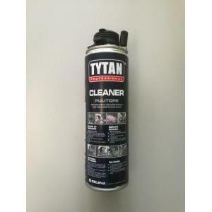 tytan professional pulitore per schiuma poliuretanica 500 ml