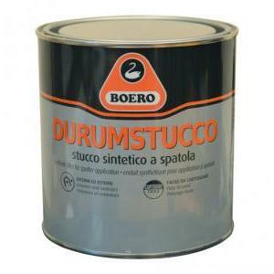 boero boero durumstucco per ferro e legno bianco 1/2 litro
