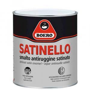 boero boero satinello bianco 2,5 lt smalto antiruggine satinato cod.104.001pitturare