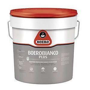 boero boero bianco plus 14 lt  idropittura professionale murale ad alta opacita'