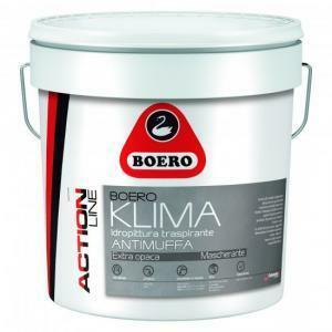 boero boero klima bianco 14 lt idropittura traspirante antimuffa extra opaca per interni