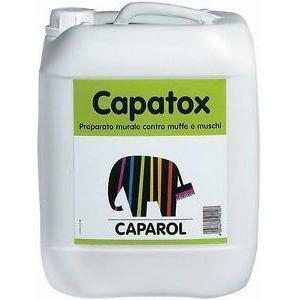 caparol capatox  10 litri disinfettante e antimuffa per pareti interne ed esterne