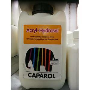 caparol fondo acrilico trasparente per esterni ed interni acryl hydrosol 5 litri