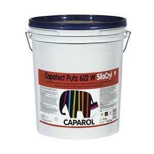 caparol caparol capatect putz 622 w silacryl base 1 25 kg rivestimento acrilsilossanico