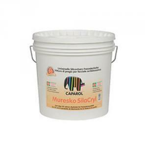 caparol caparol muresko silacryl 12,5 litri pittura per facciate acril-silossanica
