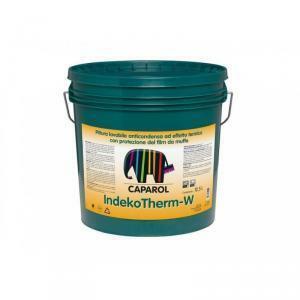 caparol caparol indekotherm w 4  lt pittura lavabile anticondensa ad effetto termico con protezione del film da muffe