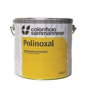 sammarinese sammarinese polinoxal fondo antiruggine grigio 0,5 litri