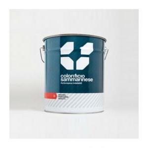sammarinese sammarinese tecnolux bianco 1 litri smalto indicato per la verniciatura industriale come macchine agricole, macchine utensili, bombole