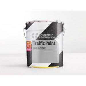 sammarinese spartitraffico bianco 5 kg smalto per la segnaletica stradale orizzontale del tipo non rifrangente