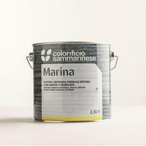 sammarinese sammarinese flatting marina opaco 0.75 litri vernice trasparente ideale per barche e yacht