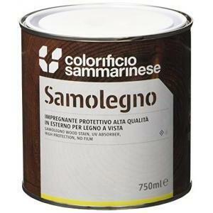 sammarinese sammarinese samolegno impregnante colore ciliegio 0.75 litri al solvente