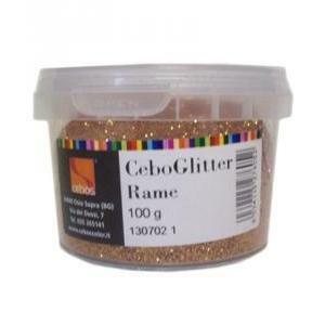 cebos cebos ceboglitter rame 100 gr. glitter specifico per pitture decorative