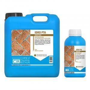 cir idro pta tono trattamento idrorepellente antimacchia a base acqua per pavimenti esterni in cotto 5 lt effetto bagnato