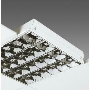 atena atena plafoniera 4x18 w neon at/600 lucida da soffitto per sistemi modulariaccessori controsoffitto
