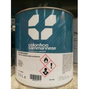 sammarinese sammarinese rapida essiccazione micaceo nero antracite 2.5 kg smalto a rapida essiccazione micaceo a effetto antichizzante