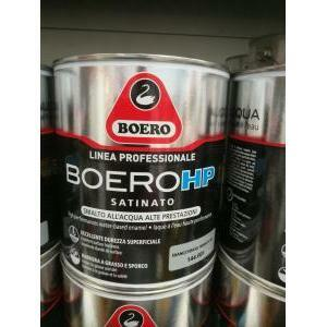 boero boero hp satinato bianco smalto all'acqua 2,5 litri